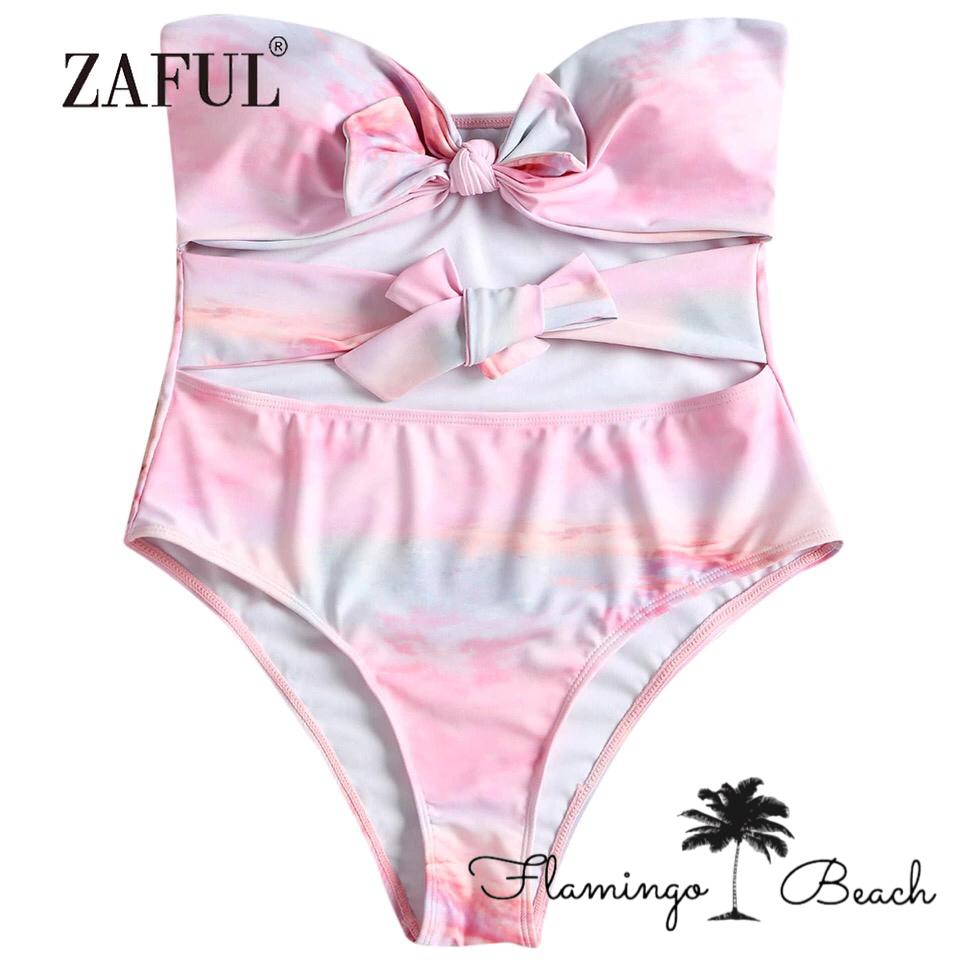 【FlamingoBeach】marble monokini