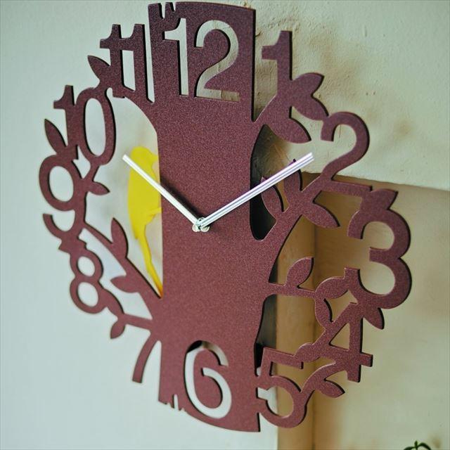 振り子時計 キツツキ Picus ~ピークス~ CL-5743 インターフォルム - 画像1