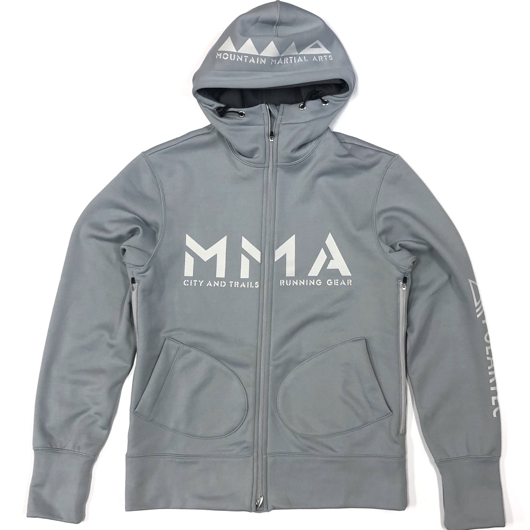 Mountain Martial Arts /MMA POLARTEC PSP Zip hoody 《Gray》