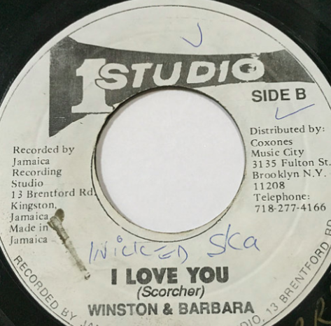 Winston & Barbara - I Love You【7'】