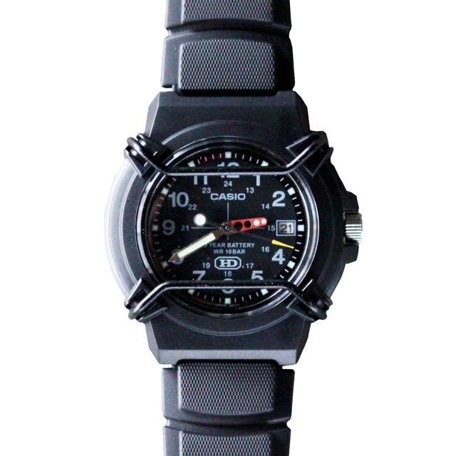 Free shipping NOW!! / CASIO PROTECT WATCH / BLACK