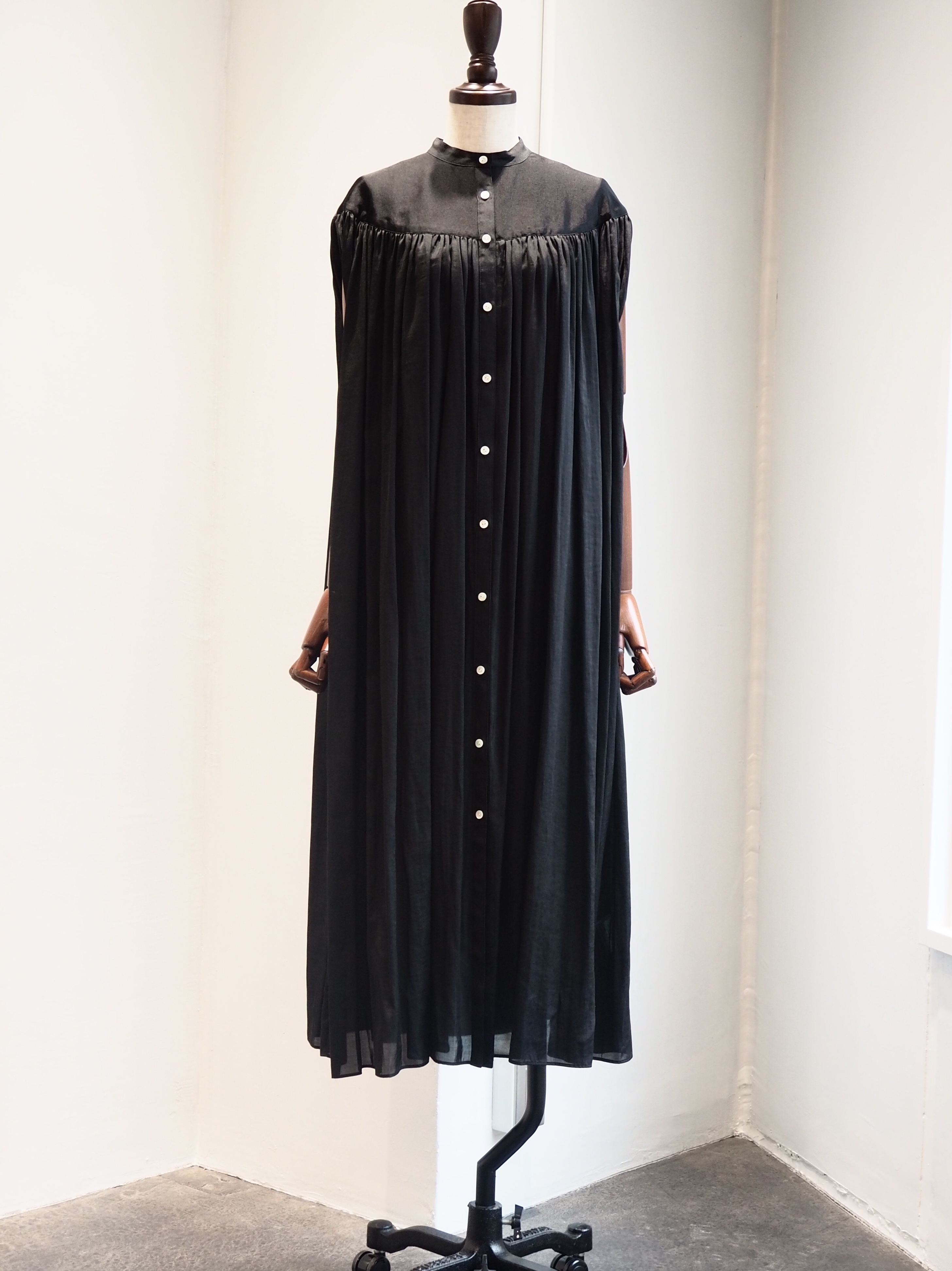【ELIN】GATHERED S/L DRESS