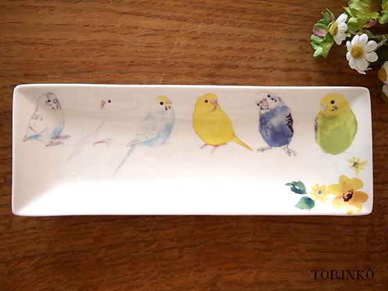 セキセイインコ達のトレー インコ・鳥