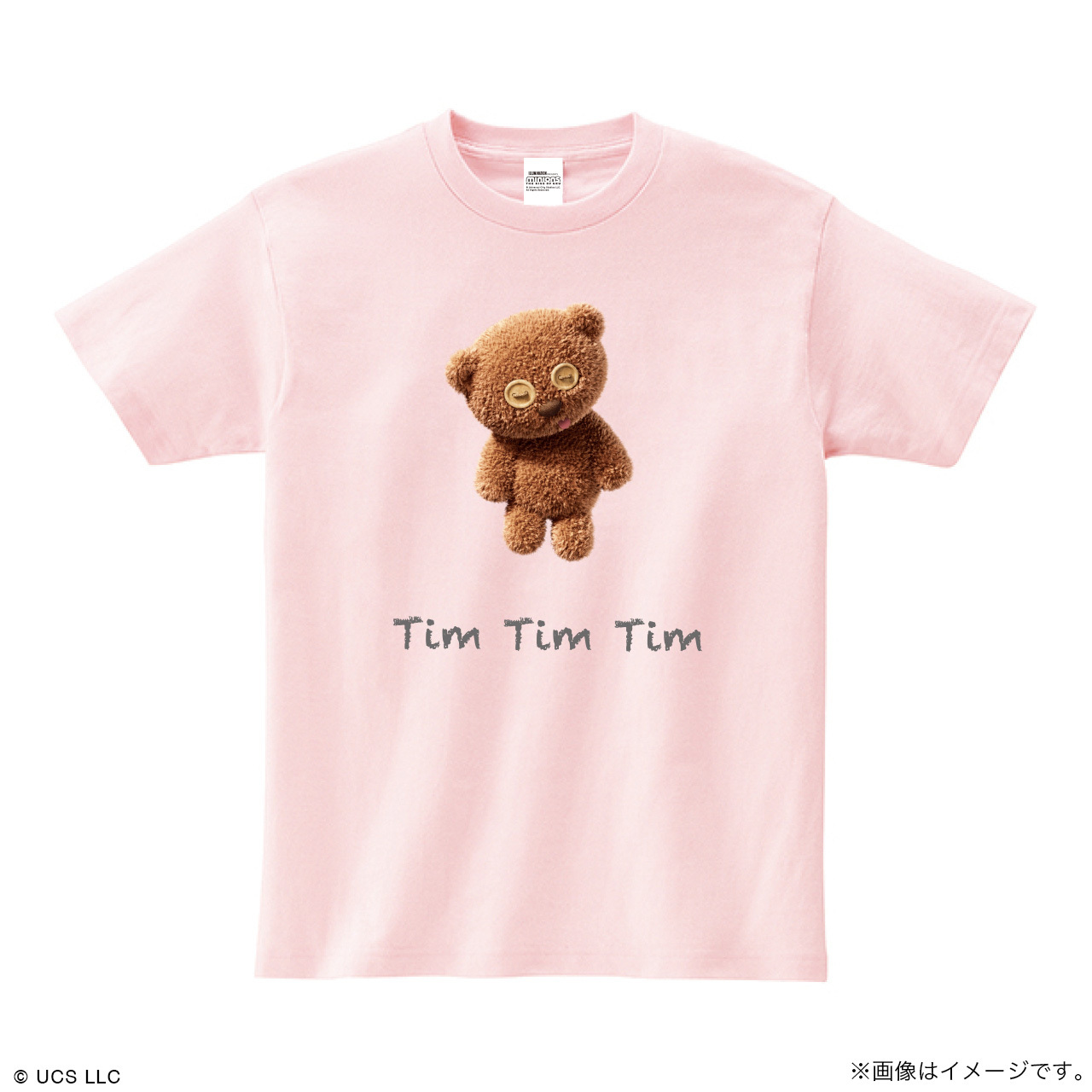 Tシャツ/ミニオン(Tim ピンク)【MINIONS POP UP STORE 限定】
