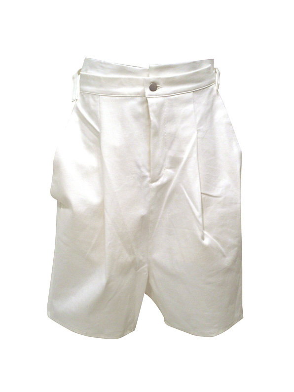 【再入荷】Aquvii / LONG RISE PANTS / WHITE