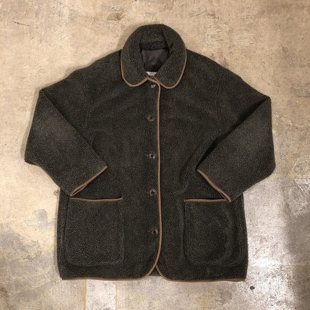 Vtg Boa Coat