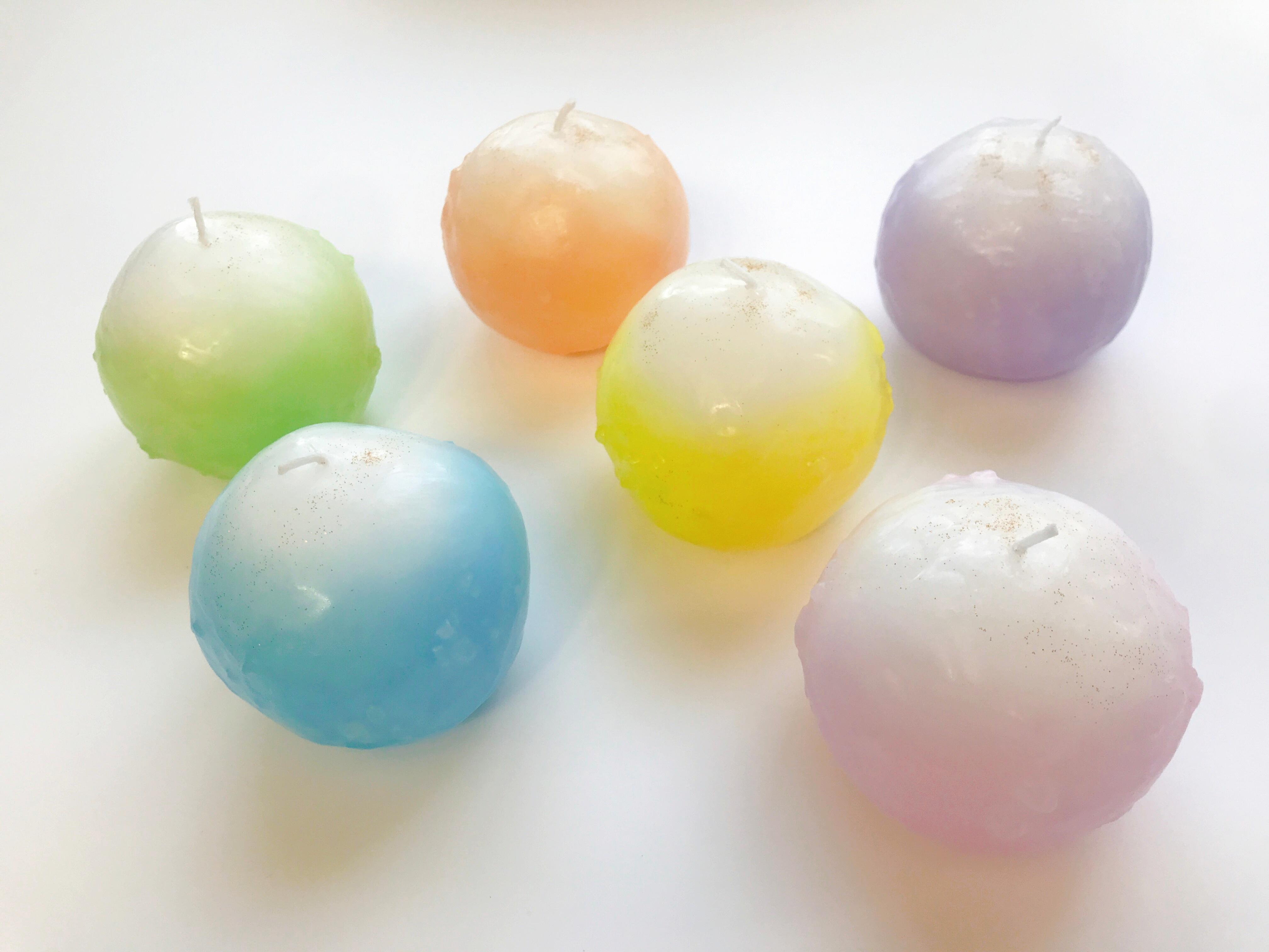 盛り塩がキャンドルになった浄®キャンドル<6色展開:B-7 Mサイズ>