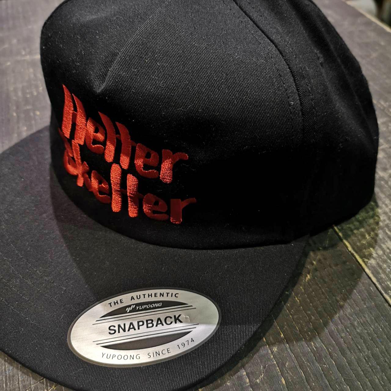 ||||| HELTER SKELTER SNAPBACK CAP BLK, GRY