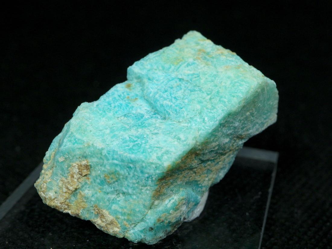 自主採掘!アマゾナイト カリフォルニア産 原石  22g AZ0043 天河石(てんがせき) 鉱物 天然石