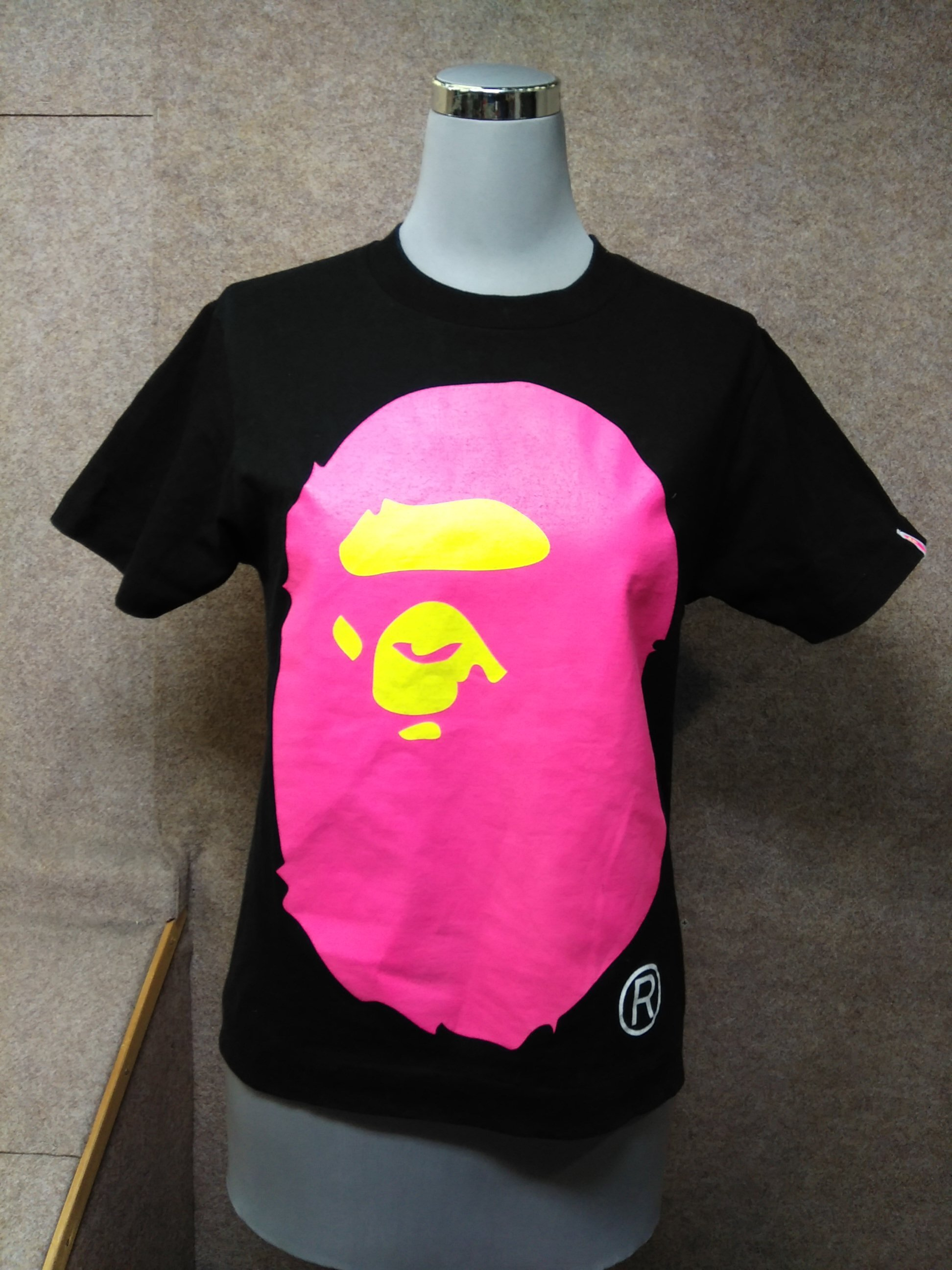 APEE by A BATHING APE Tシャツ S 黒 mu529e