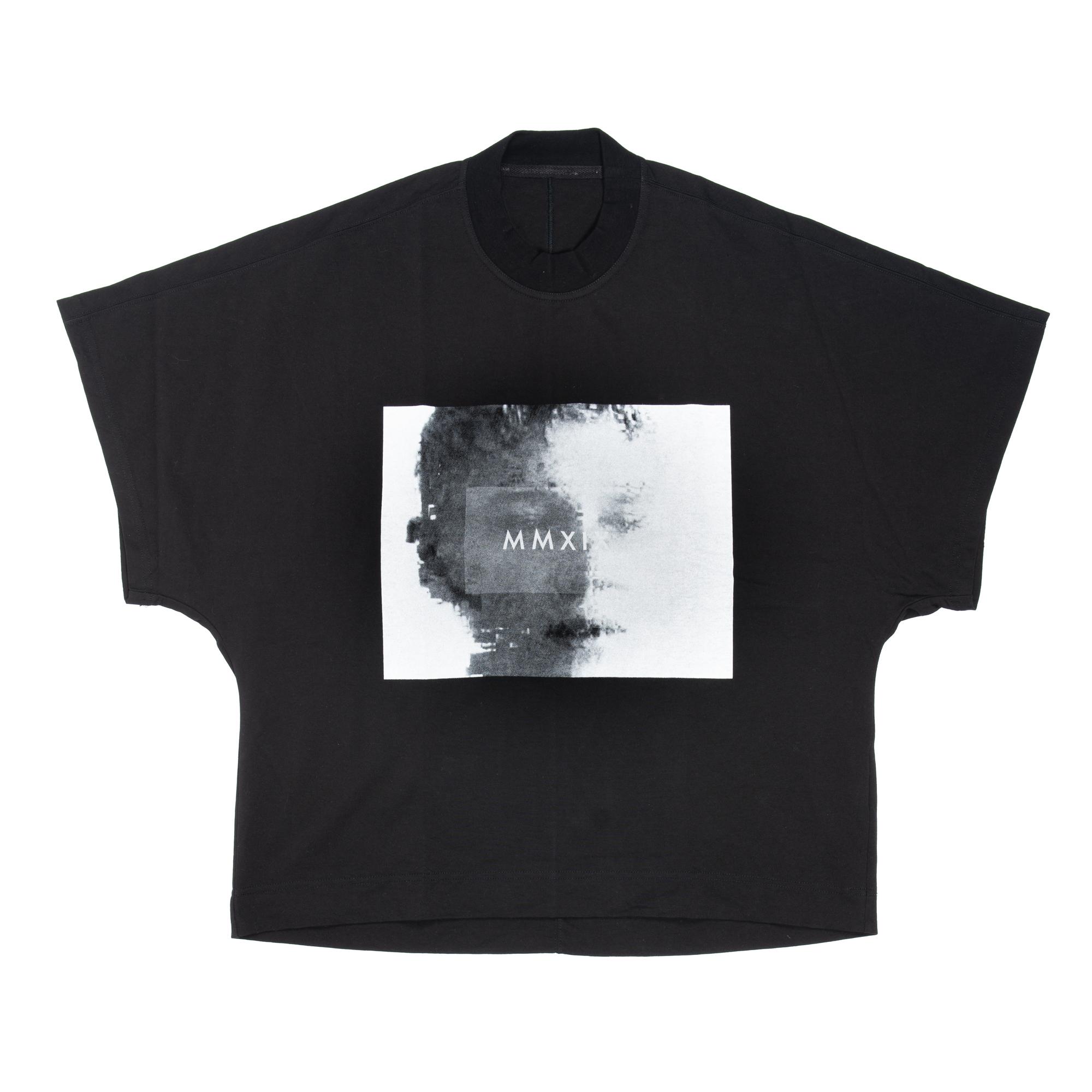 657CPM11-BLACK / プリントカイトTシャツ