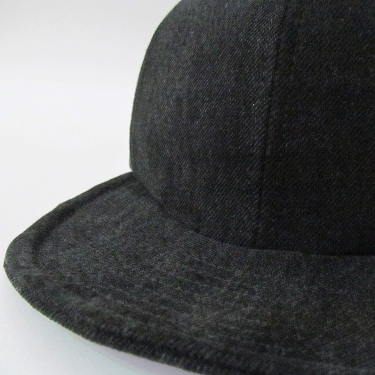 BLACK DENIM MODIFIED CAP