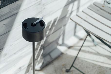 灰皿 スタンド型/組立て式(SMOKING STAND)