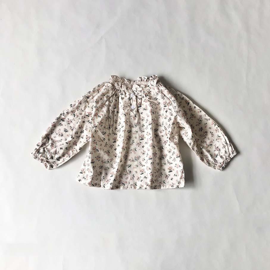リバティハイネックシャツ【T132】