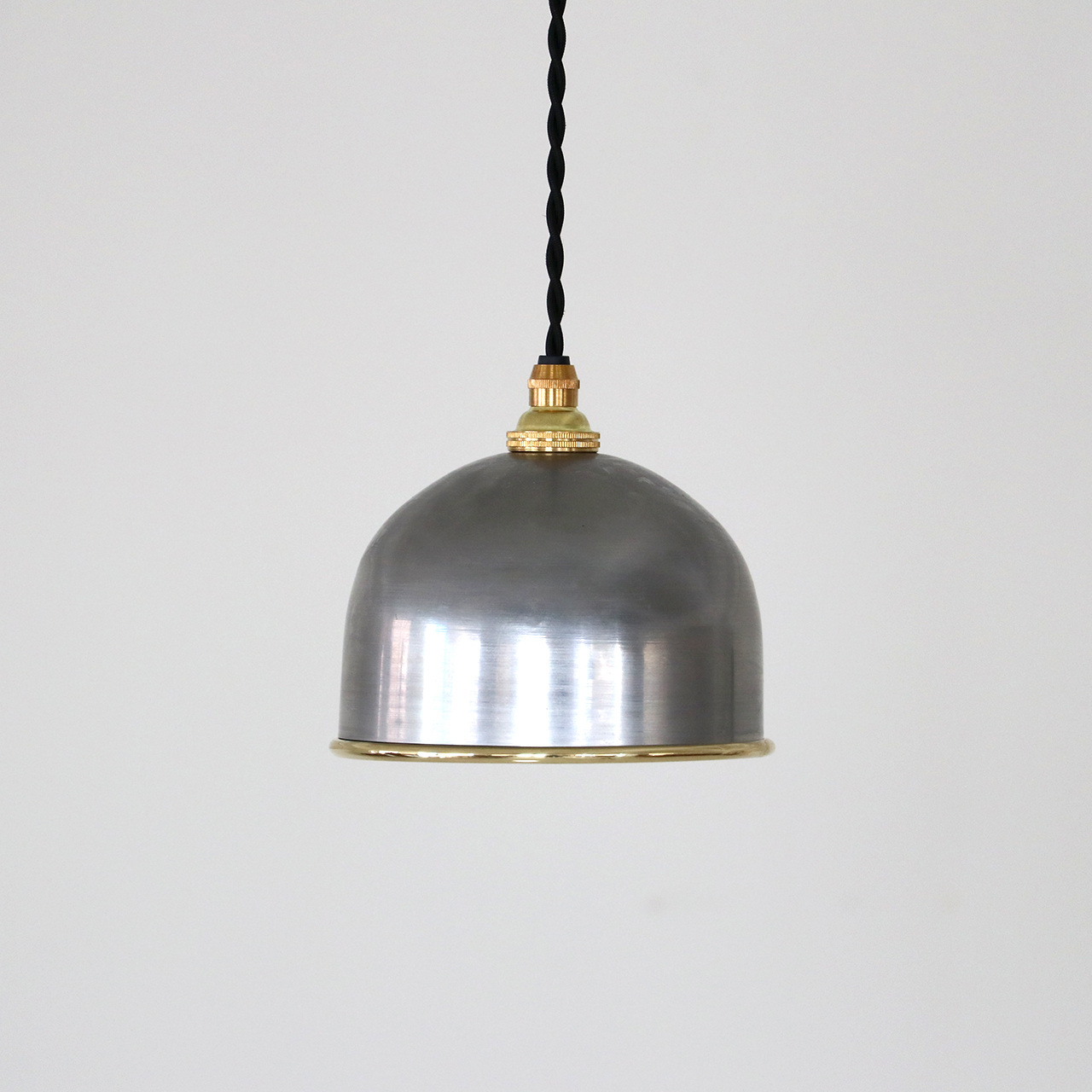 Iron-Brass C pendant lamp