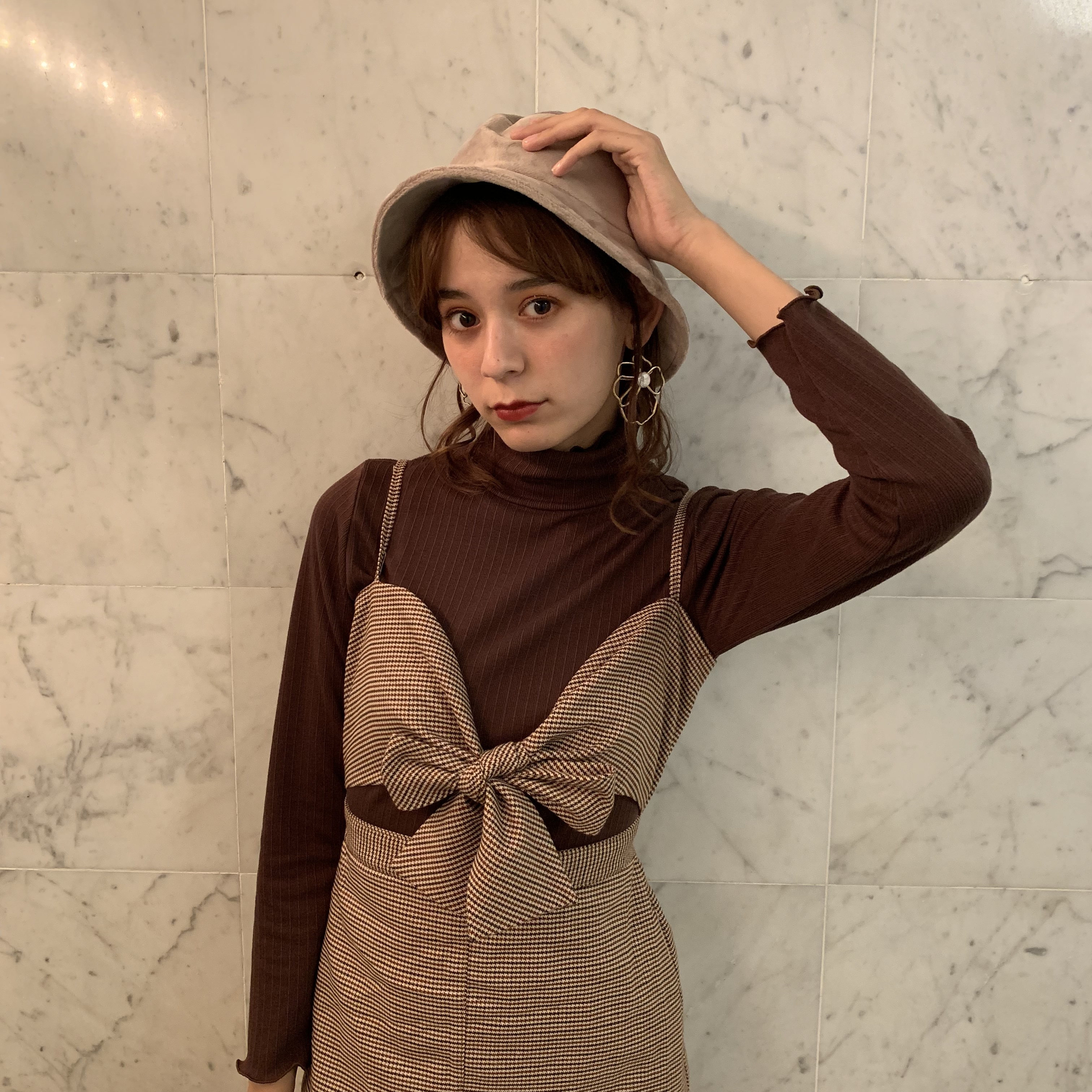 front ribbon one-piece