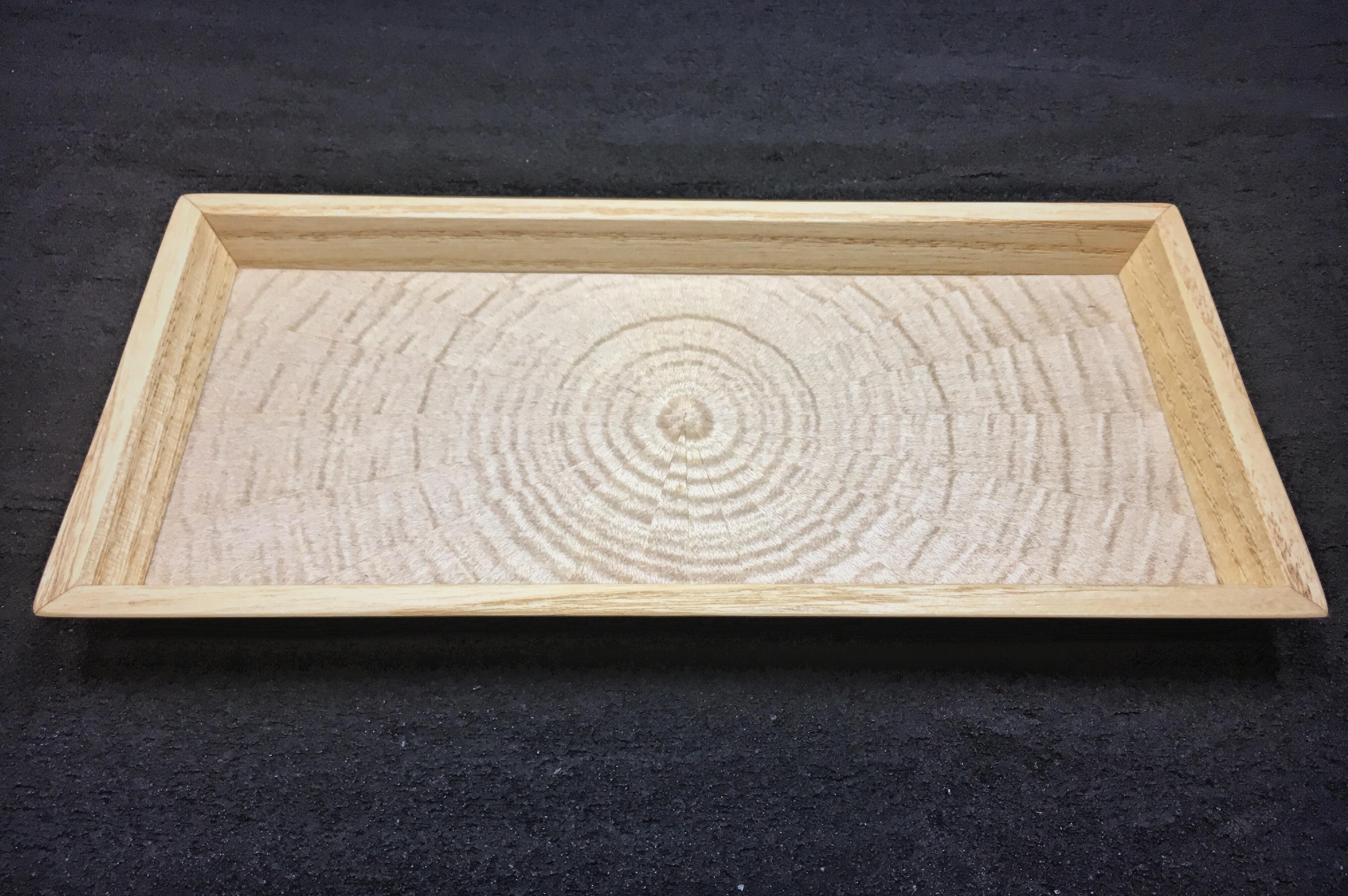 ホワイトシカモア 光線貼り mini tray  0090