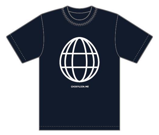 地球人 オフィシャルTシャツ第一弾