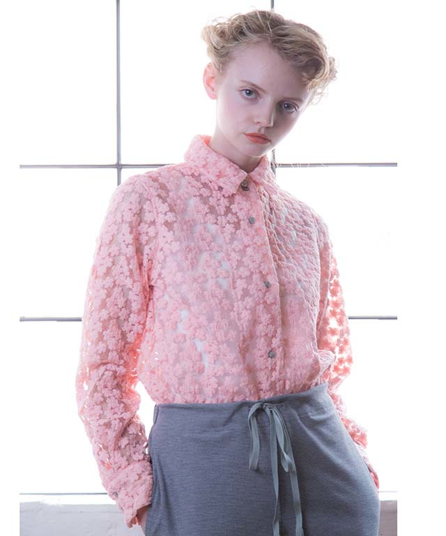 df18SS-03 FLOWER SHIRT