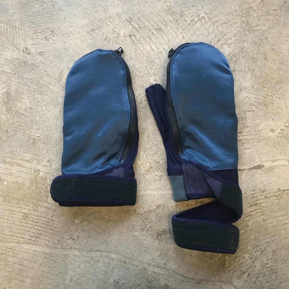meanswhile Double Woven Fleece Mitten Glove