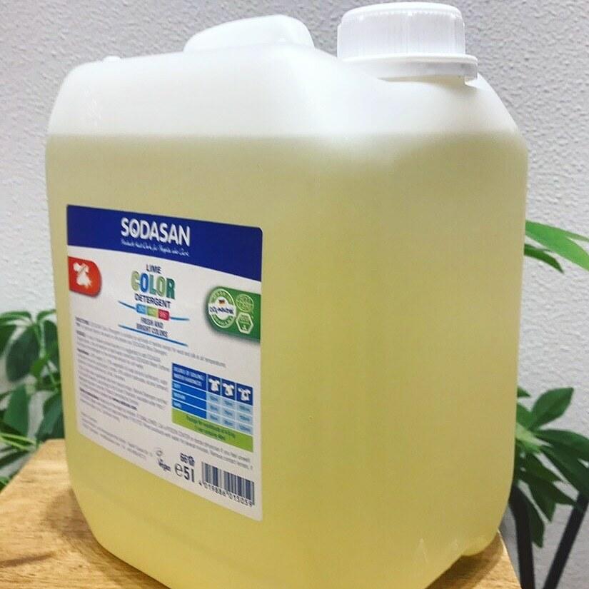 【SODASAN】ランドリーリキッド詰替え用 (洗濯用液体洗剤) 5L