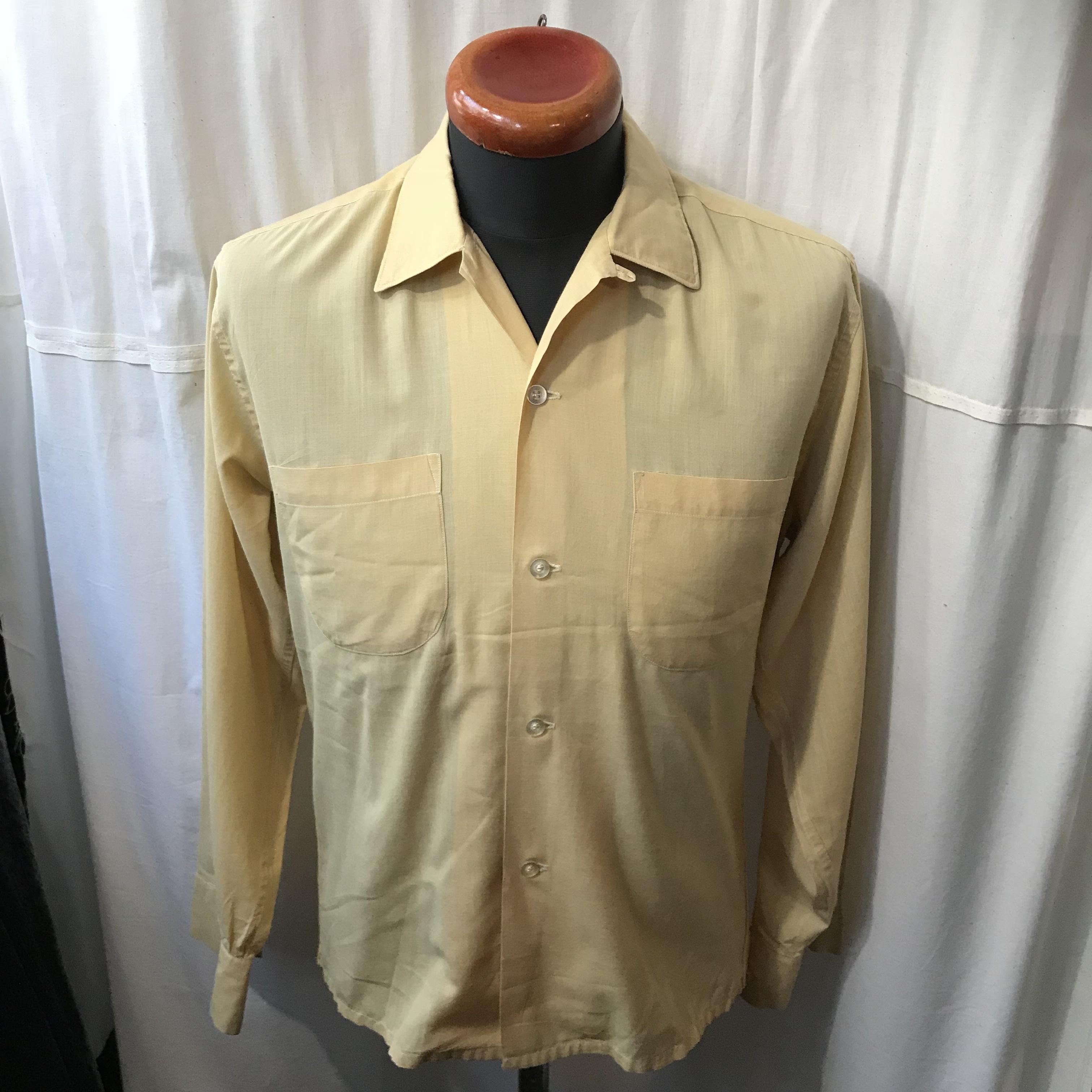 50's~60's vintage PENNEY'S ぺニーズ ボックスシャツ  メンズM