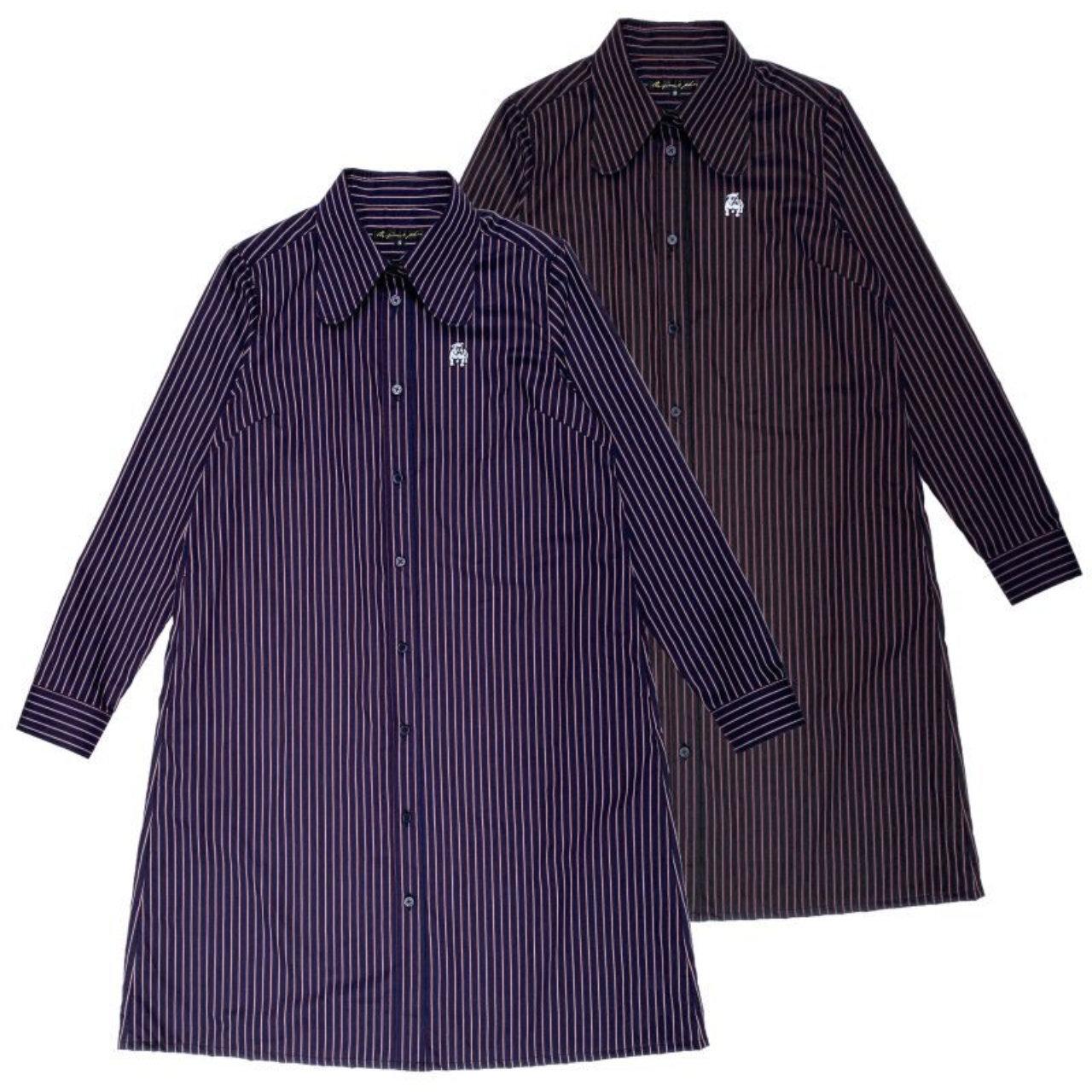 Original John   BEAGLE COLLAR SHIRTS DRESS [OP391]