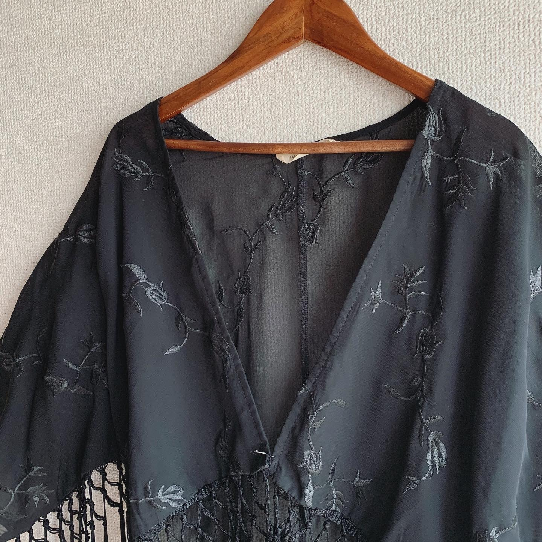 【SALE】vintage fringe haori