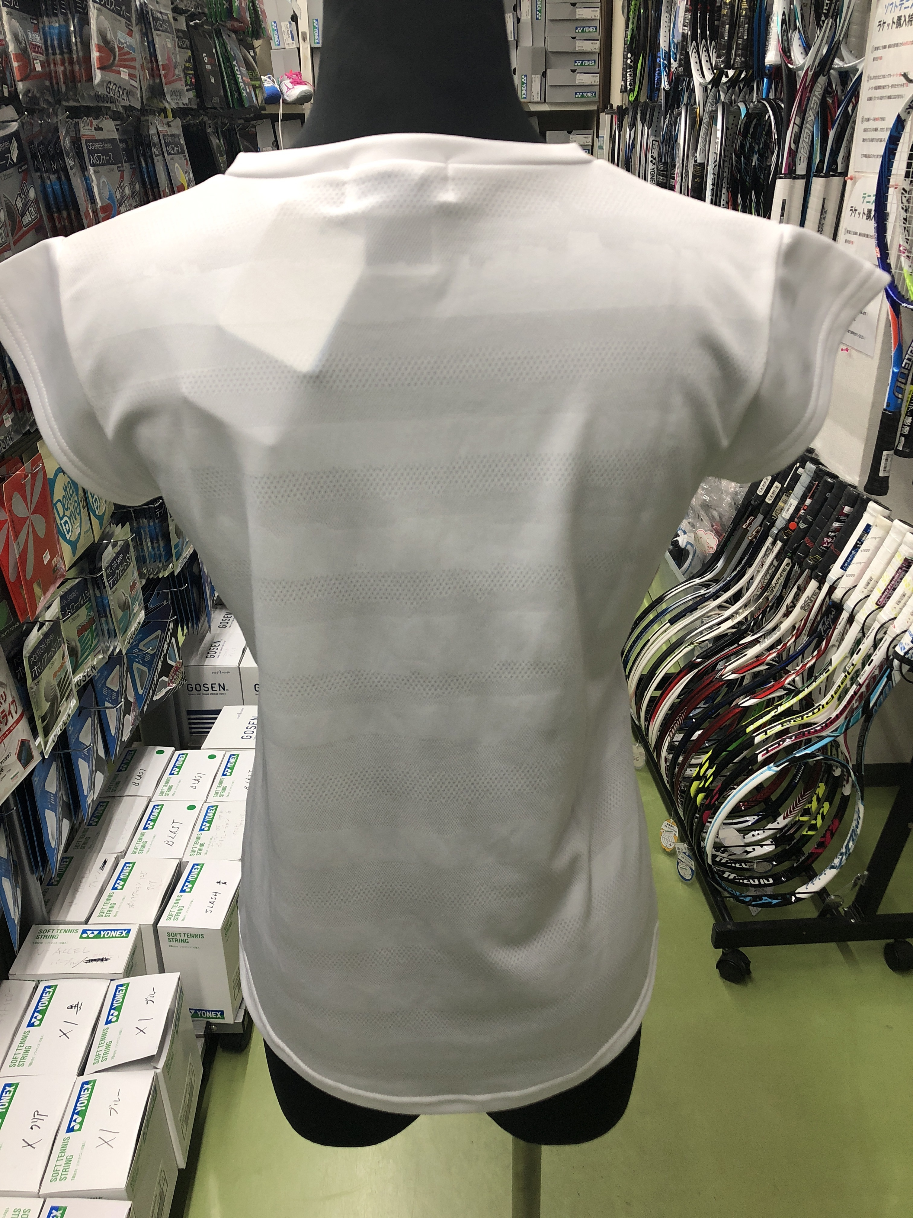 ヨネックス レディースゲームシャツ 20349 - 画像3