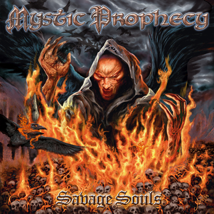 "MYSTIC PROPHECY ""Savage Souls""日本盤"