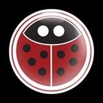 ゴーバッジ(ドーム)(CD0255 - GIRL 18 LADYBUG) - 画像1