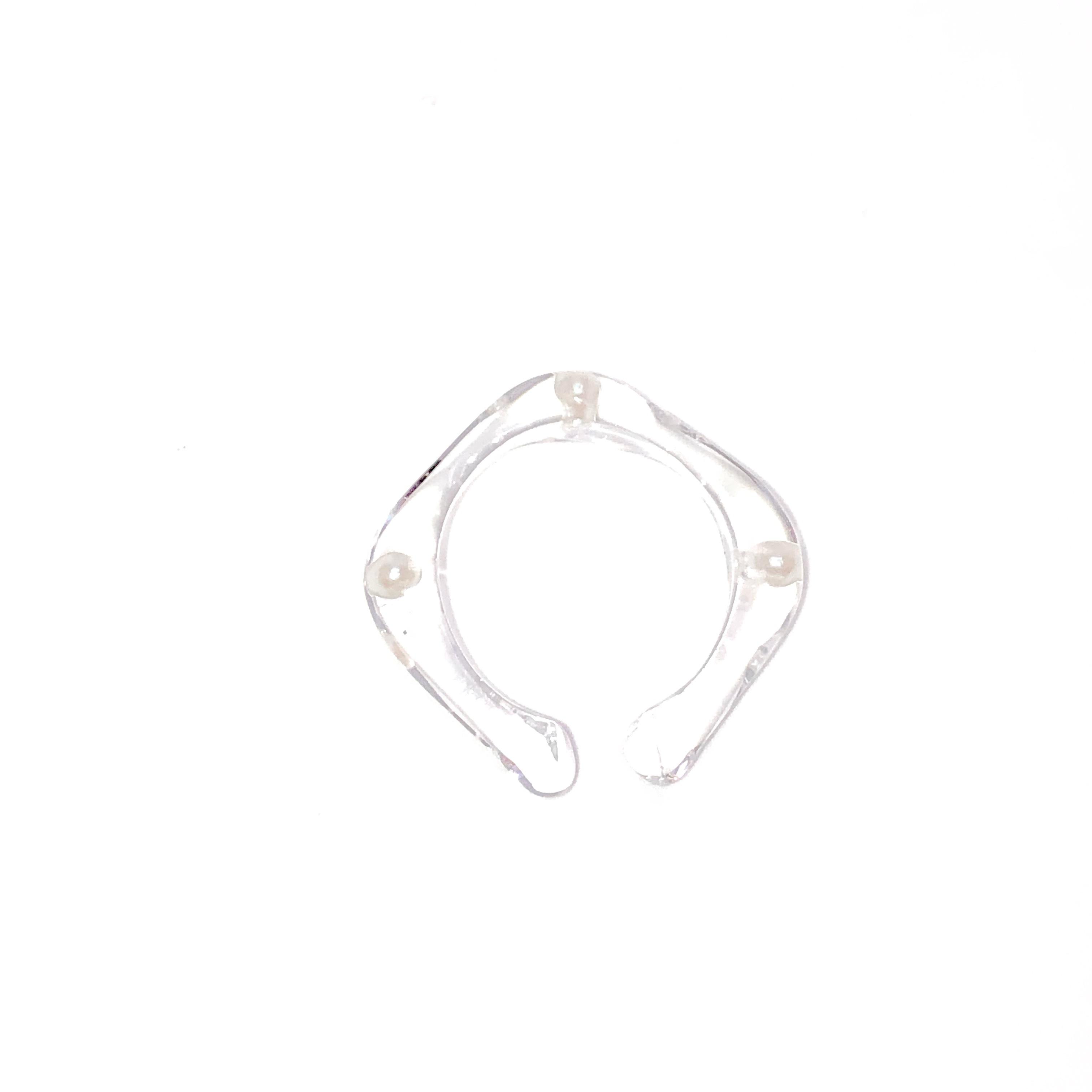 sAn [sanrmk]  Pearl Ear Cuff Ring 14