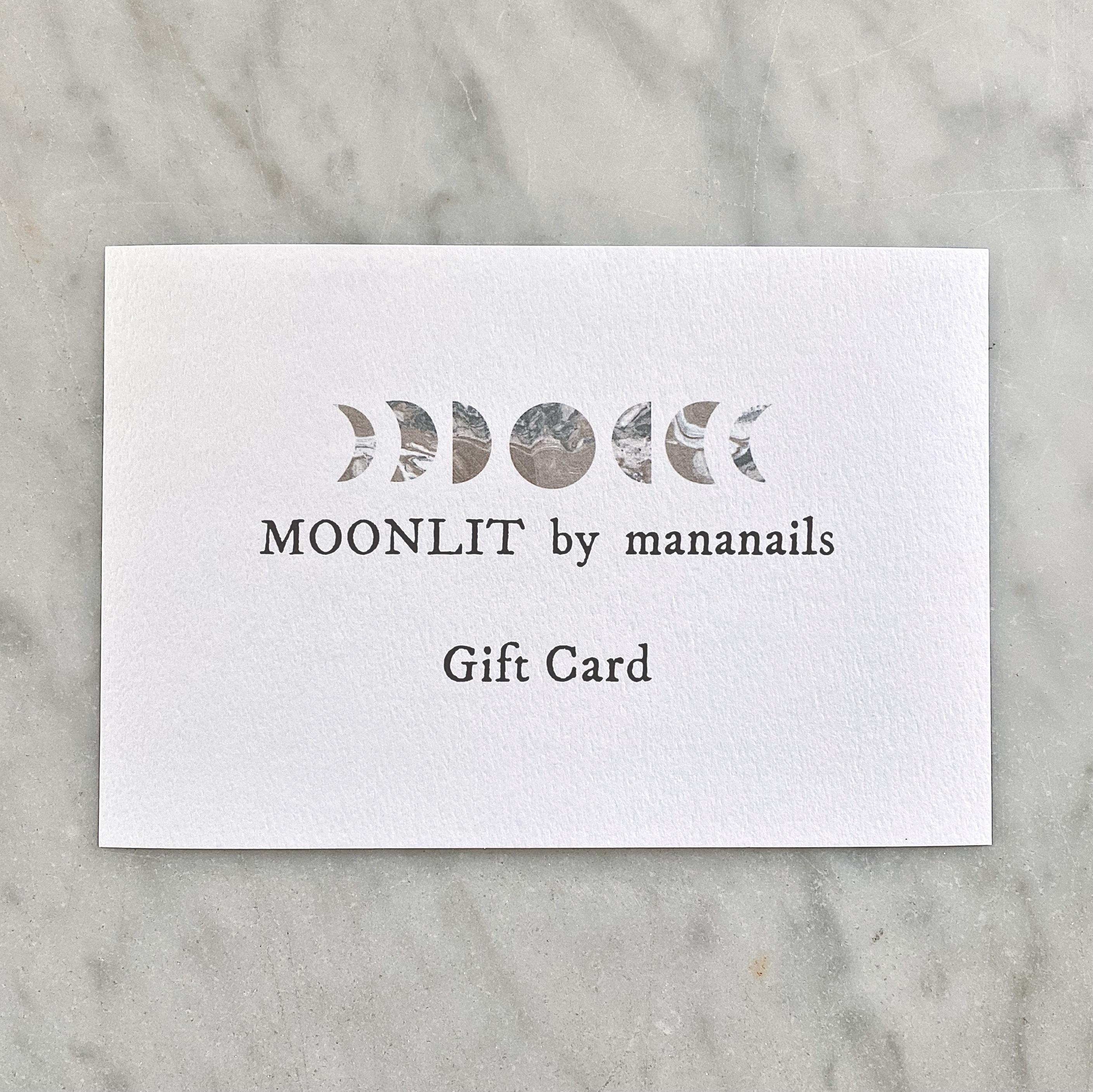 MOONLIT Gift Card