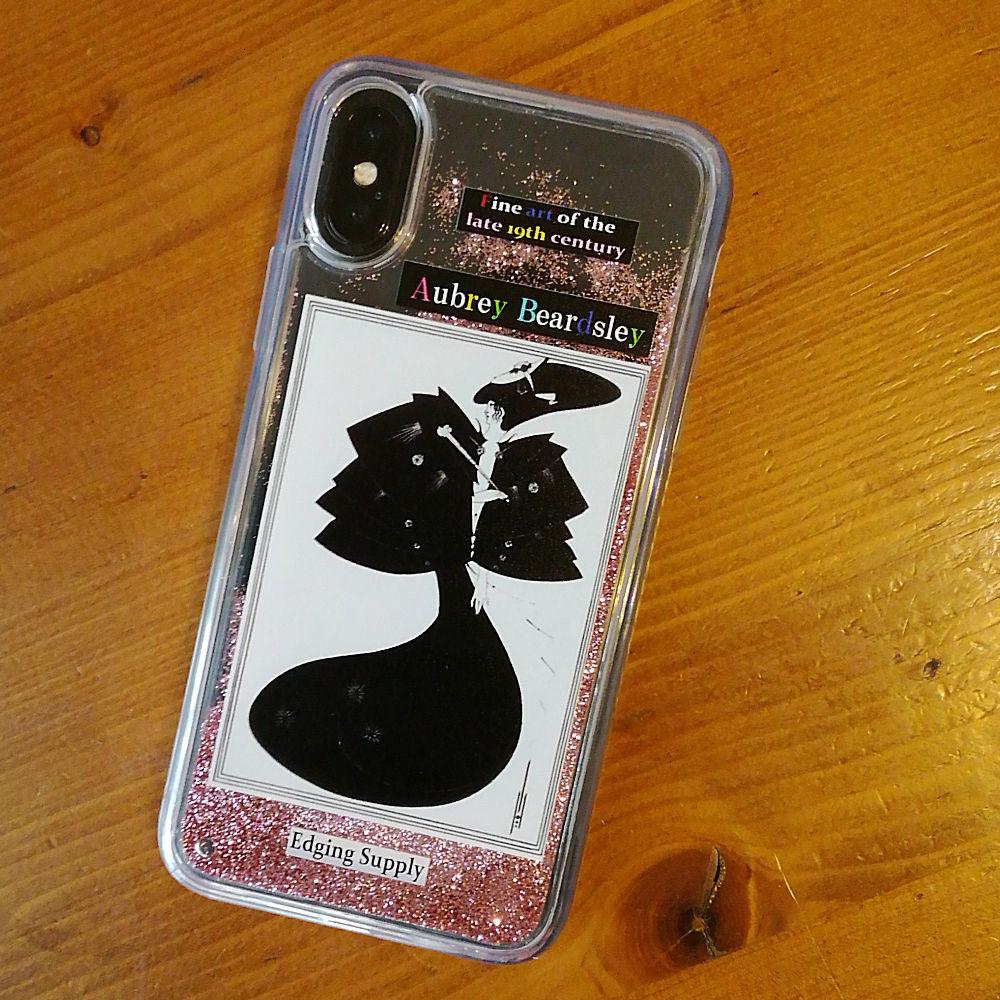 オリジナル iPhone X/Xs ケース 19世紀末美術シリーズ ビアズレー A