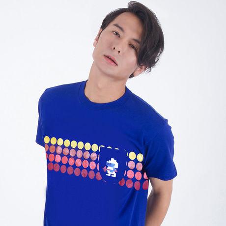 ディグダグ (DIGDUG) Tシャツ 〜1 POCKET TEE〜 (BLUE) / GAMES GLORIOUS