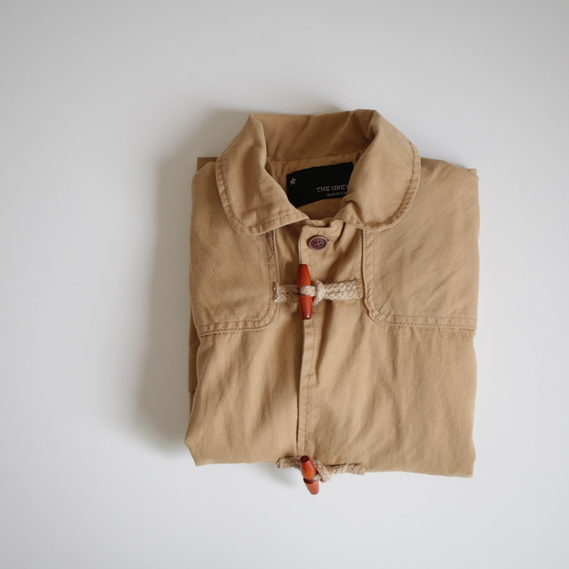 earth color coat. 〔アースカラー コート〕