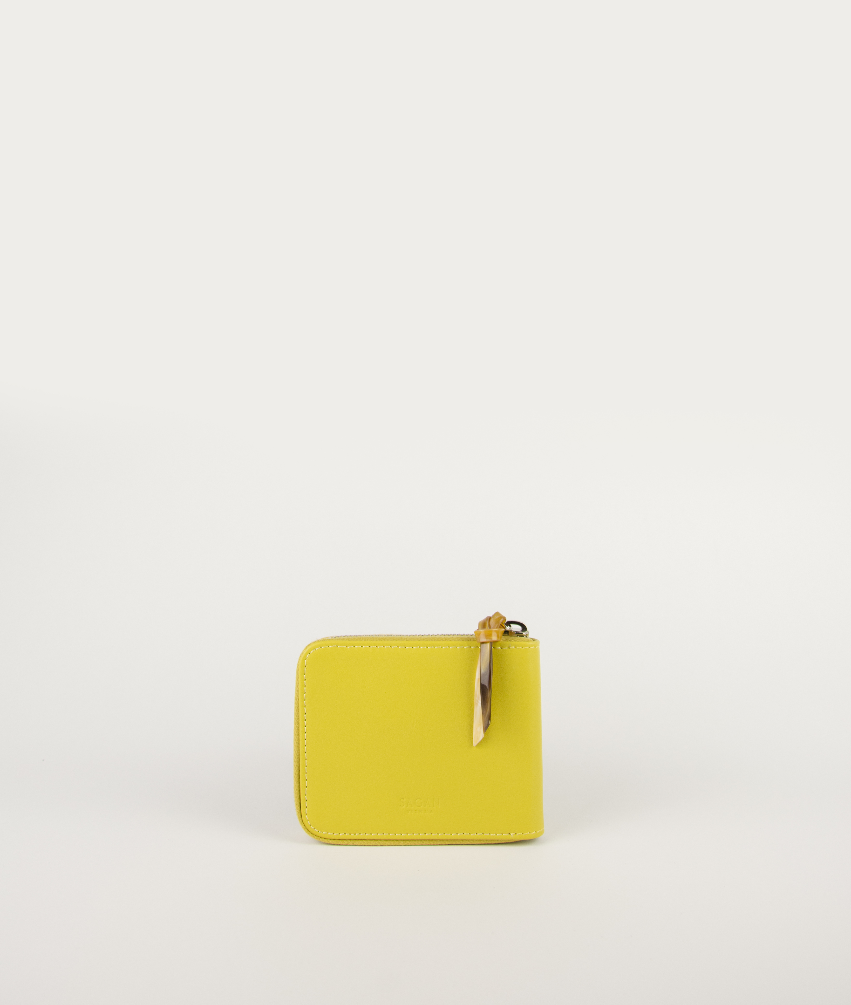 WALLET SQUARE_FRESH YELLO with HORN PULLER