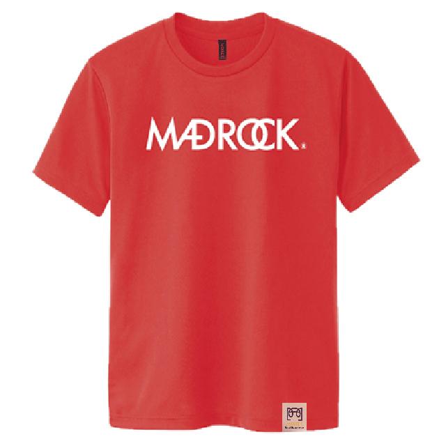 マッドロックロゴ Tシャツ/ドライタイプ/オレンジ