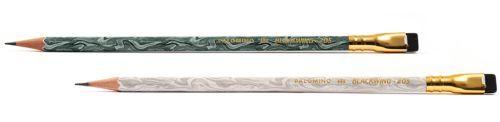 蘇った伝説の鉛筆 BLACK WING 205 ジェードグリーン&ホワイト