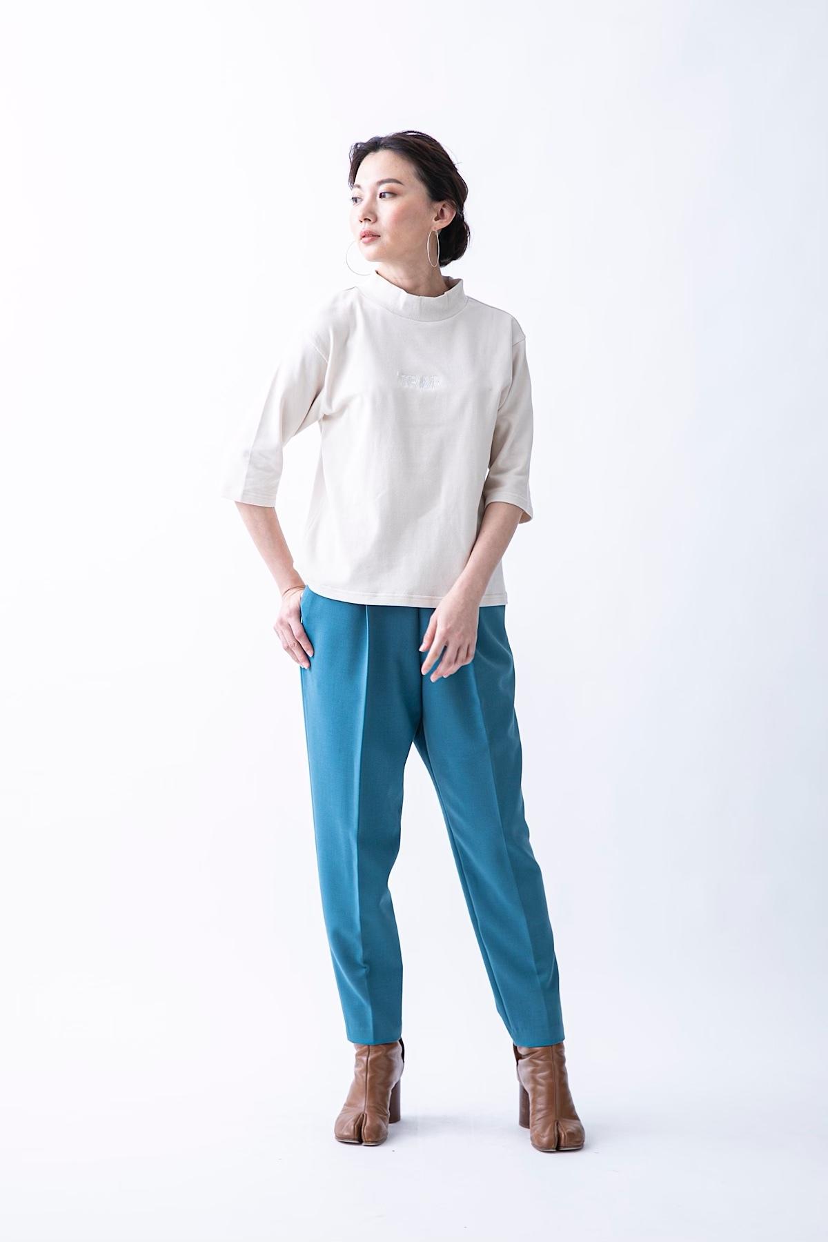 リラクシーパンツ 4色:ブルー