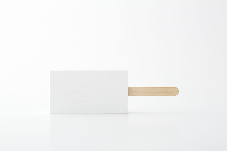 ice pop : 四角 (ホワイト) / 西本良太