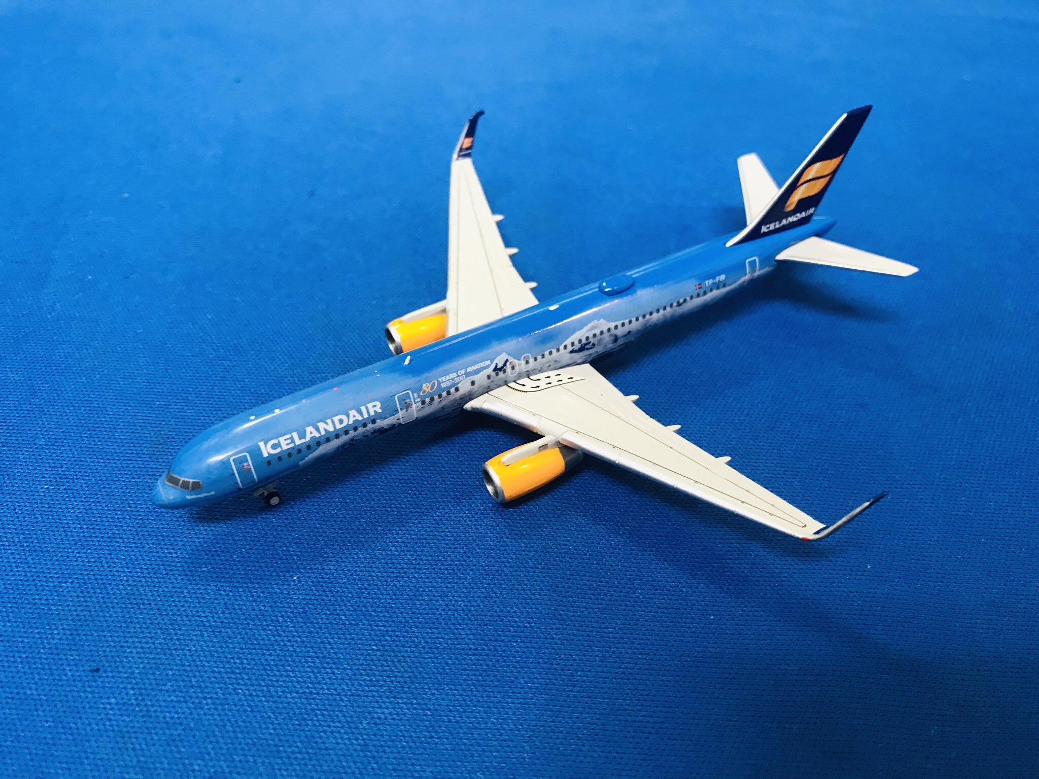 中古品ジェミニジェッツ/ボーイング 757-200 アイスランド航空 TF-FIR 1/400