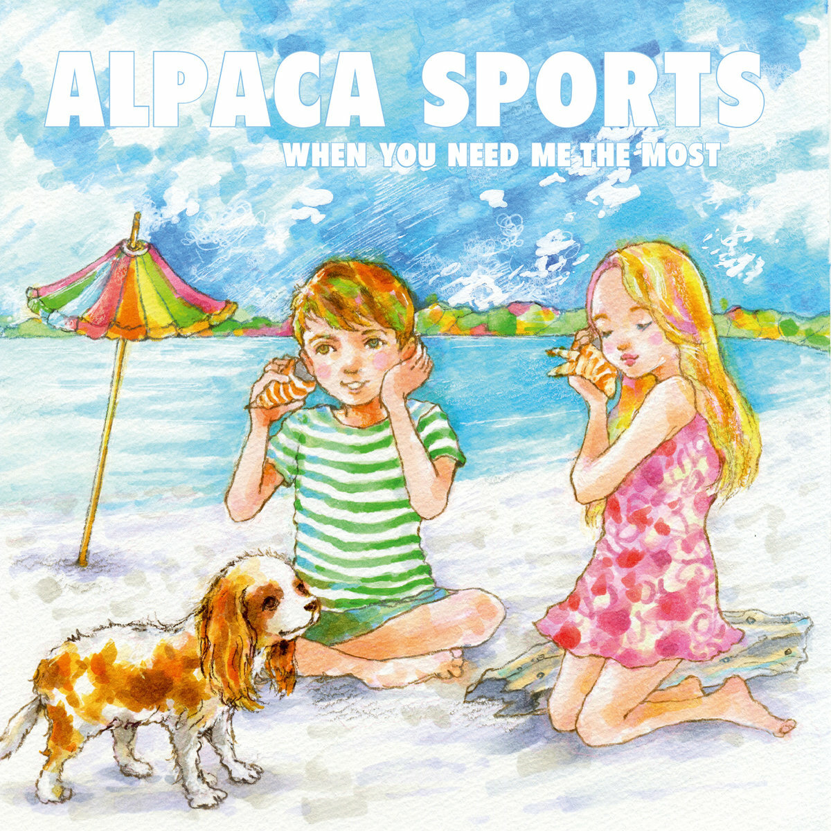 Alpaca Sports / When you need me the most(350 Ltd CD)
