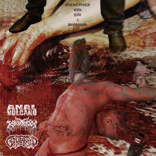 ANAL VOLCANO / GEROPETORO / KRUELTY - Entrevista con los 3 Asesinos! (CD)