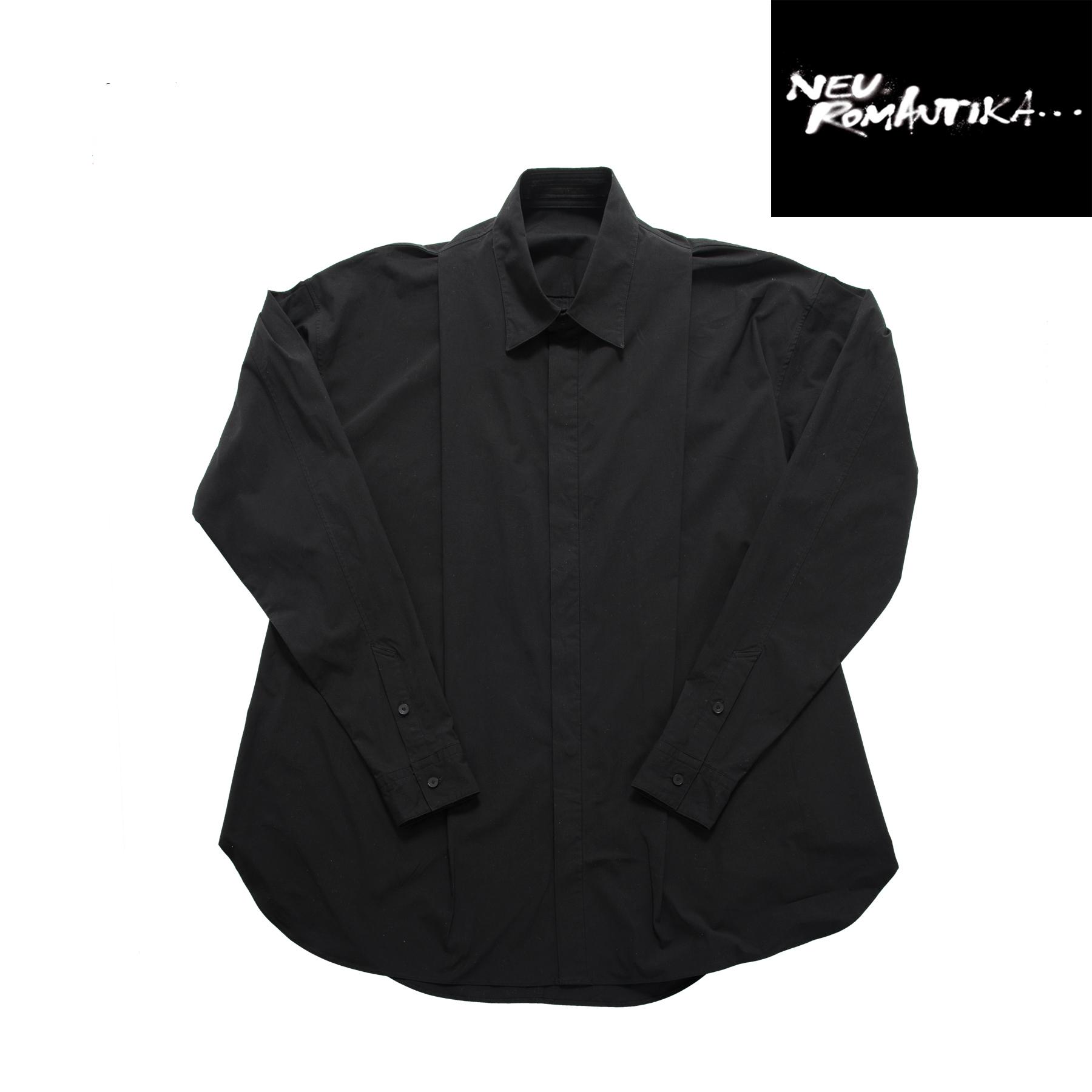 597SHM4-P-BLACK / タックドシャツ