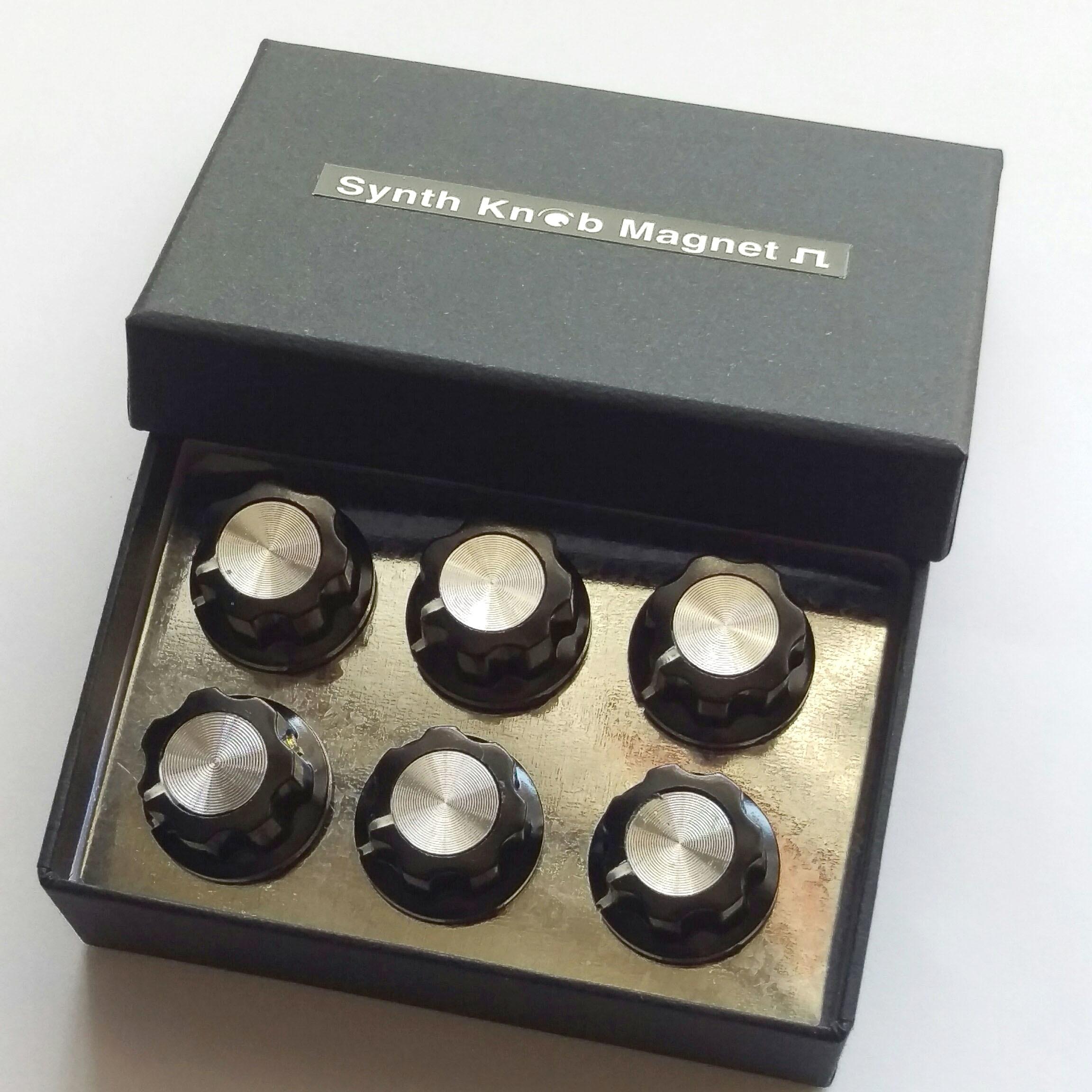 【マグネット】SKMクラシック6 Synth Knob Magnet