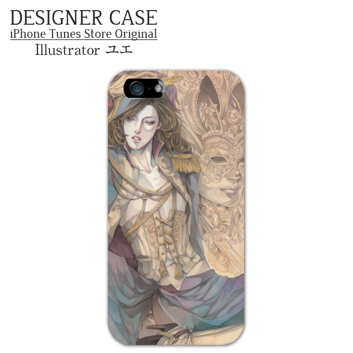 iPhone6 Soft case[bal masque] Illustrator:Yue