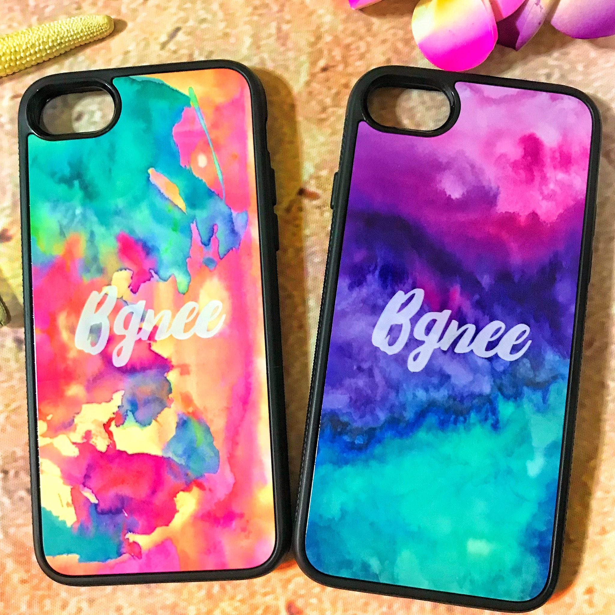 Bgnee iPhone cover case aurora