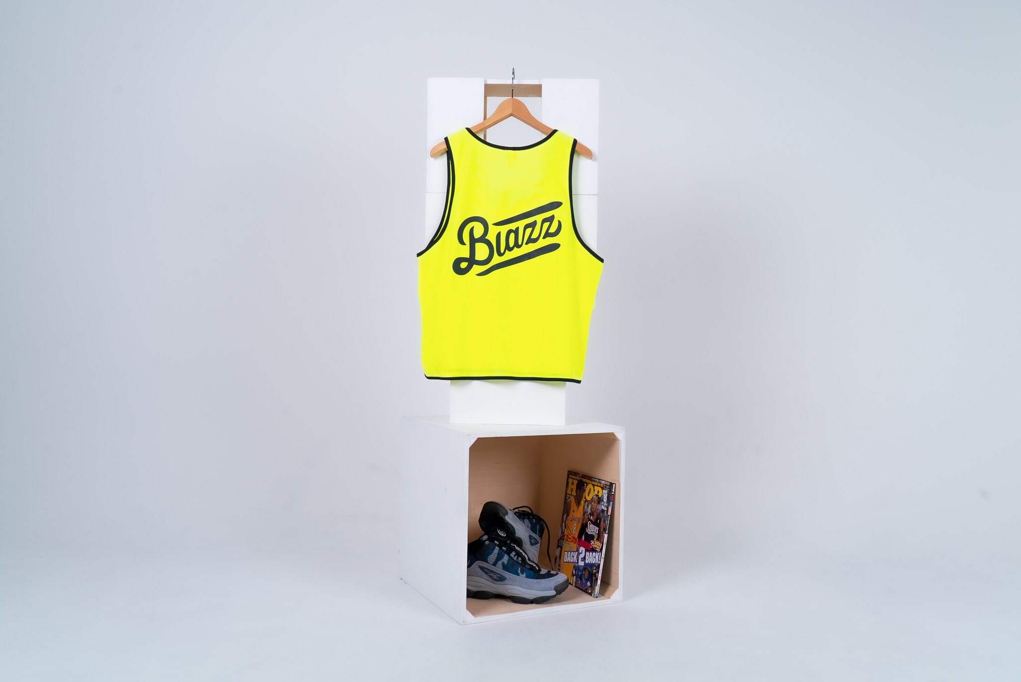 blazz sports bibs 5packs [NEON YELLOW]