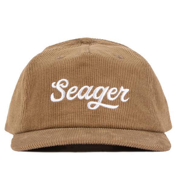 SEAGER #Big Khaki Corduroy Snapback